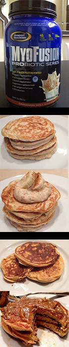JP's Protein Pancakes
