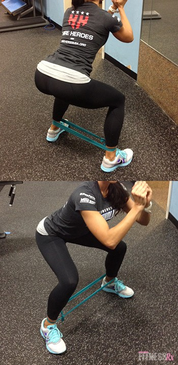 Resistance Band Booty Circuit | FitnessRX for Women