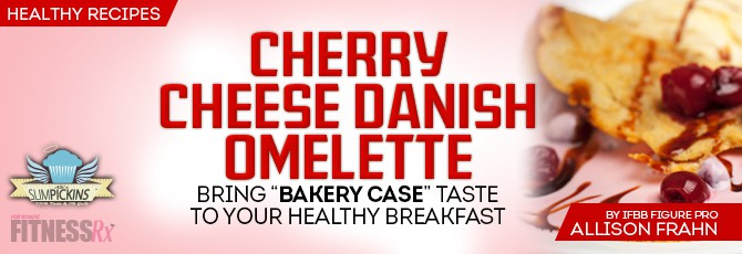 Cherry Cheese Danish Omelette