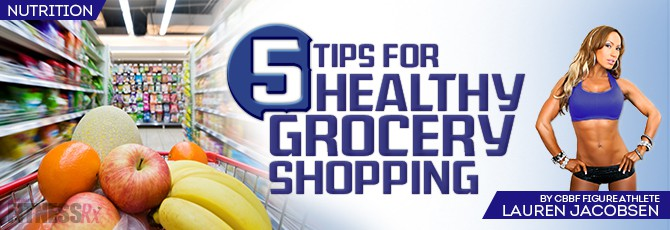 5 Tips for Heathy Grocery Shopping