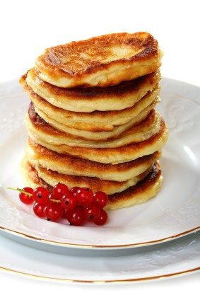 Pumpkin Pie Pancakes | FitnessRX for Women
