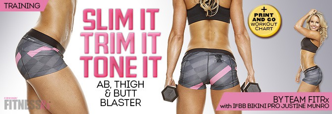 Slim It, Trim It, Tone It!