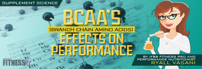 BCAAs Effects on Performance