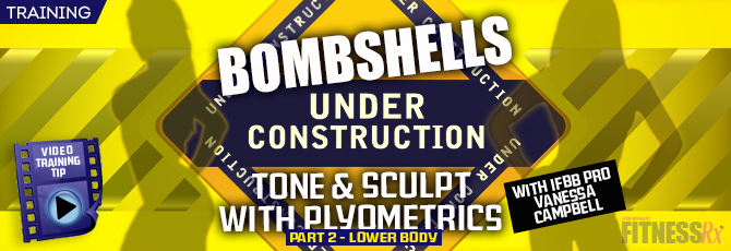 Tone & Sculpt with Plyometrics PART 2 – LOWER BODY