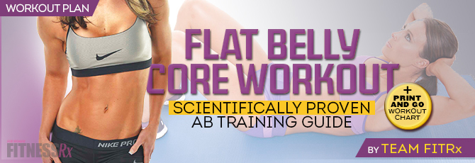 Flat Belly Core Workout