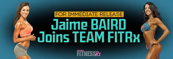 Jaime Joins Team FitRx