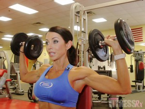 Shoulder Press & One-Arm Lateral Raises