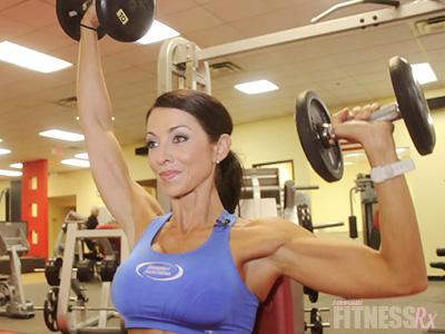 Shoulder Press & One-Arm Lateral Raises