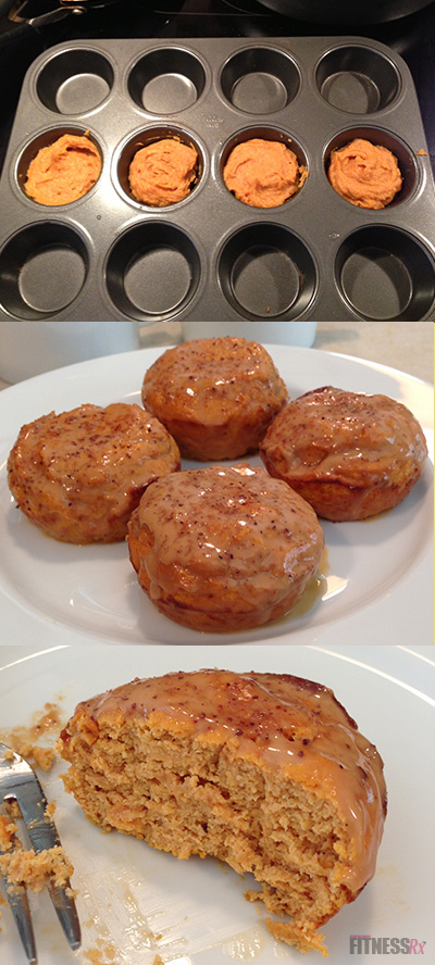 Pumpkin Cinnamon Rolls | FitnessRX for Women