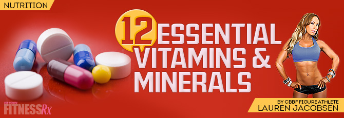 Why Vitamins & Minerals?