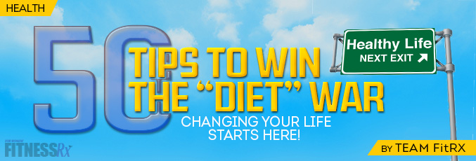 50 Tips to Win the Diet War