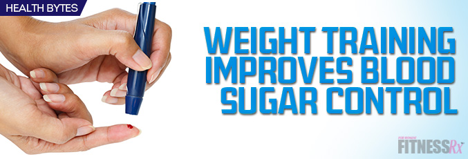 Training Improves Blood Sugar