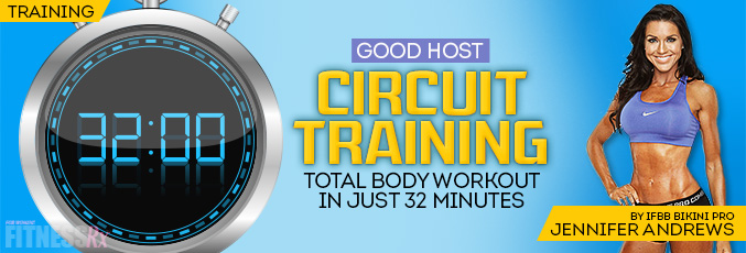 Good Host Circuit-Training Workout
