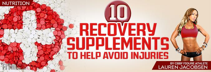 10 Recovery Supplements