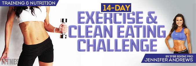 14-Day Clean-Eating and Exercise Challenge