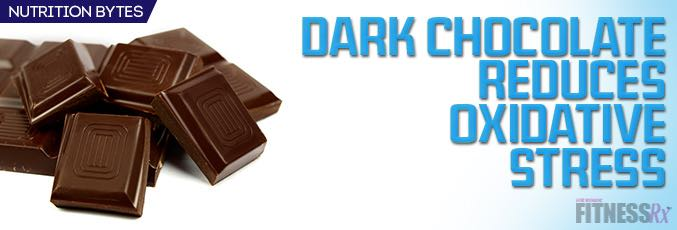 Dark Chocolate Reduces Oxidative Stress in Cyclists