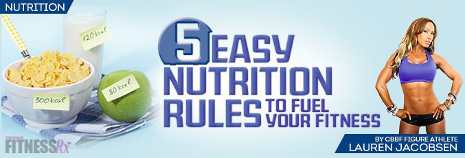 5 Easy Nutrition Rules