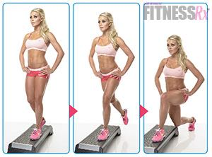Sexy Summer Legs - Dianna Dahlgren's Leg and Butt Workout - PRINCESS LUNGES