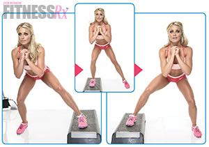 Sexy Summer Legs - Dianna Dahlgren's Leg and Butt Workout - SPLIT SQUATS