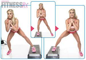 Sexy Summer Legs - Dianna Dahlgren's Leg and Butt Workout - SPLIT SQUATS