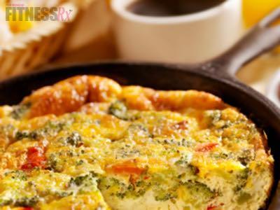 Veggie N' Cheese Frittata