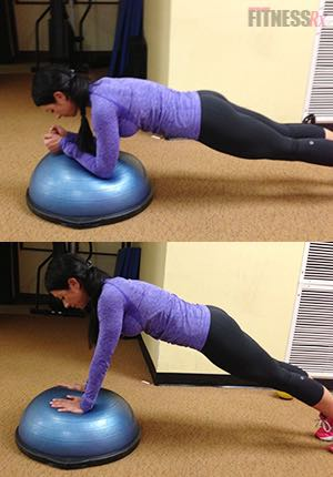 Upper Body Challenge - Intensify your training by engaging your core