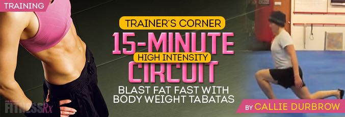 15-Minute High Intensity Circuit