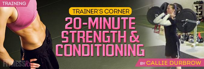 20-Minute Strength & Conditioning