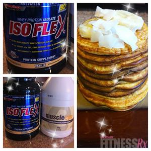 Clean Treats that Taste Like Cheats! - Diet-Friendly Pizza and Banana Protein Pancakes