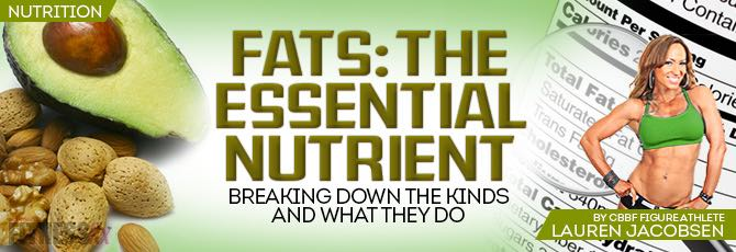 Fat: The Essential Nutrient
