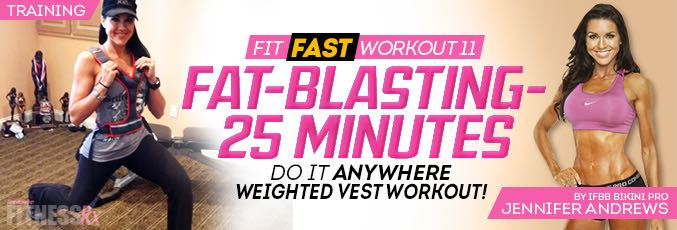 FIT FAST Weight Vest Workout 11