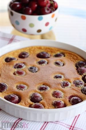 Oven-baked Cherry Pancake