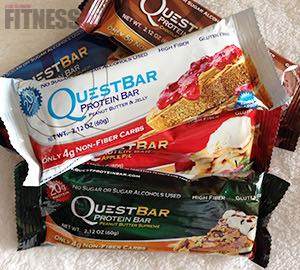 FitRx Reviews…QUEST BARS
