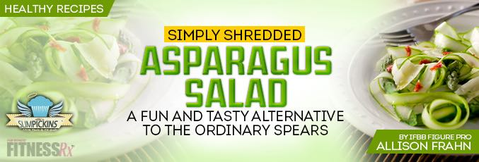 Simply Shredded Asparagus Salad