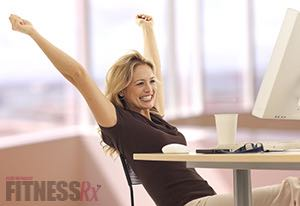 Kick the Stress At Work - 4 simple exercises to relieve tension