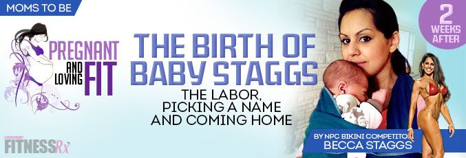 The Birth of Baby Staggs