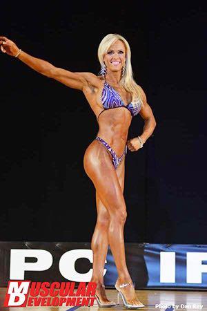 IFBB Figure Pro Gennifer Strobo - Gen's Recipes For Success, Great Legs & Healthy Fajitas