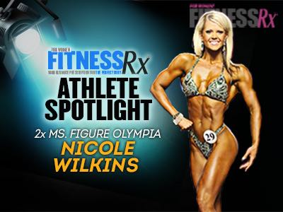 Athlete Spotlight…2x Figure Olympia Champion Nicole Wilkins