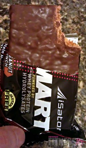Eat-Smart Bars! - High-quality protein with a candy bar flavor
