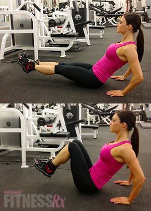 Cable Leg Pull-ins - Amping up a basic exercise