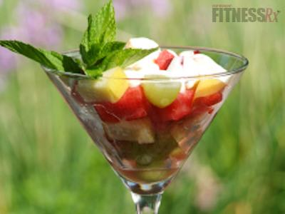 Fresh Fruit de la Creme - A delicious way to enjoy fresh, seasonal produce!