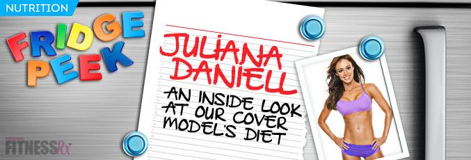 Fridge Peek: Juliana Daniell