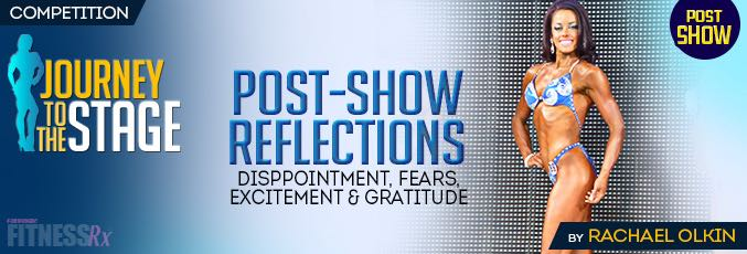 Post-Show Reflections