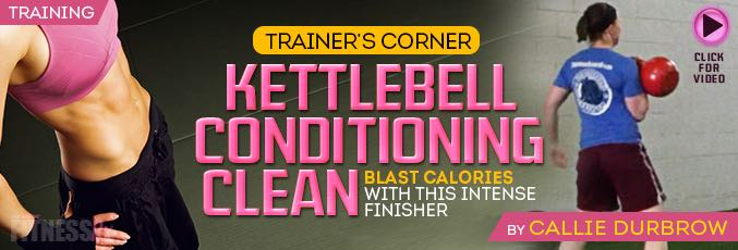 Kettlebell Conditioning Clean
