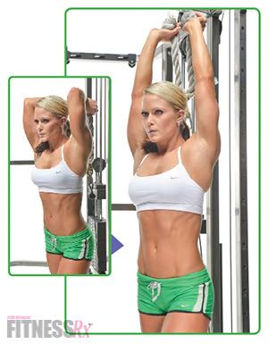 OVERHEAD CABLE TRICEPS EXTENSIONS