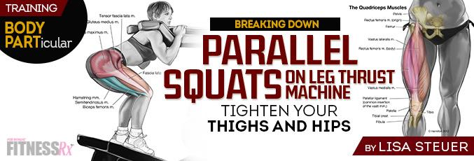 Parallel Squats on Leg Thrust Machine