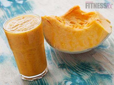 Pumpkin Pie Smoothie - High-fiber, Low-fat treat