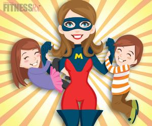 SuperMom Tips - Staying fit while raising a healthy family