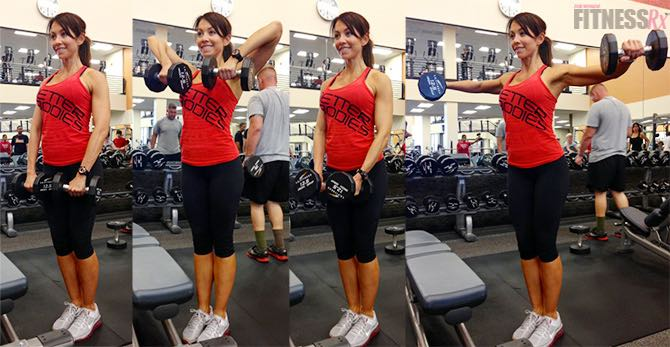 Tank Top Tone-Up: Part 1 - Two intense combination shoulder exercises