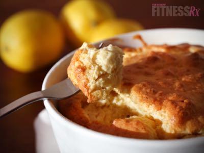 Vanilla Lemon Souffle -Light, refreshing, 4-ingredient treat